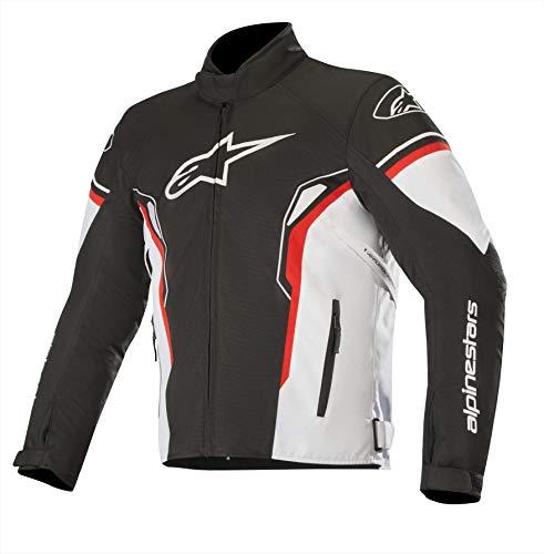 Alpinestars T-SP-1 - Giacca impermeabile da moto, taglia XL, colore nero/bianco/rosso