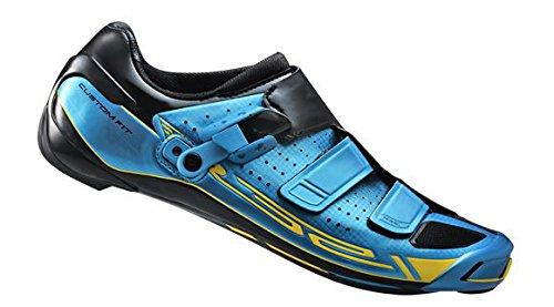 SHIMANO Scarpe Bici da Corsa Scarpe da Ciclismo Unisex Adulto SH-R321B Taglia 45 Tour De France Sonder Heliobil, Multicolore, 45, ESHR321C450B