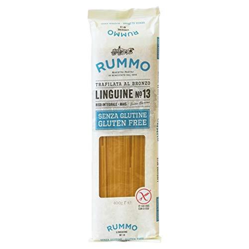 Rummo Linguine N ° 13 | Italian Gluten Free Pasta | 14 Ounce | Pack of 6