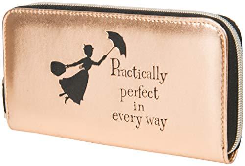 Disney Portemonnaie Damen, Geldbörse Damen, Mary Poppins Geldbeutel Damen