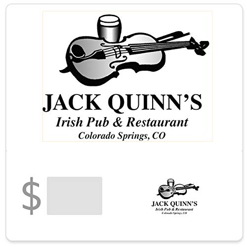 Jack Quinn Irish Ale Pub & Restaurant Gift Cards - E-mail Delivery - http://coolthings.us
