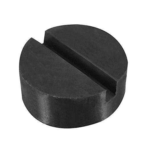 Quata Almohadilla de disco de goma del coche Jack Pad Marcos Protector Rail Floor Jack Guard Tool Jacking Lifting Disk