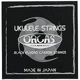 【ORCAS】 ウクレレ弦 セット OS-HARD LG (ハードゲージ Low-G ソプラノ コンサート用)