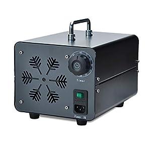 Concise Home Generatore Commerciale di Ozono Deodorante Nero Sterilizzatore Industriale O3 per Purificatore daria 3500mg
