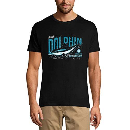 Ultrabasic - Camiseta gráfica para Hombre número uno Mejor compañero, Equipo de fútbol Americano Divertido - Negro - Large