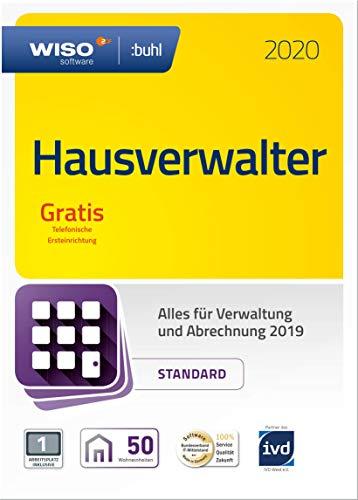 WISO Hausverwalter 2020 Standard - Die Rundum-sorglos-Lösung für kleine Hausverwaltungen und Eigentümer (Frustfreie Verpackung)