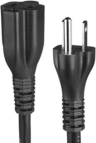 Amazon Basics Extension Cord - 6-Foot, Black Colorado