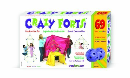 Crazy Forts! by Crazy Forts [Toy] (English Manual)