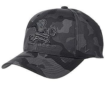 University of Notre Dame ND Fighting Irish DHS Irishman Black Ops Camo 100% Cotton Mens/Womens/Youth Limited Edition Snapback Adjustable Baseball Hat/Cap