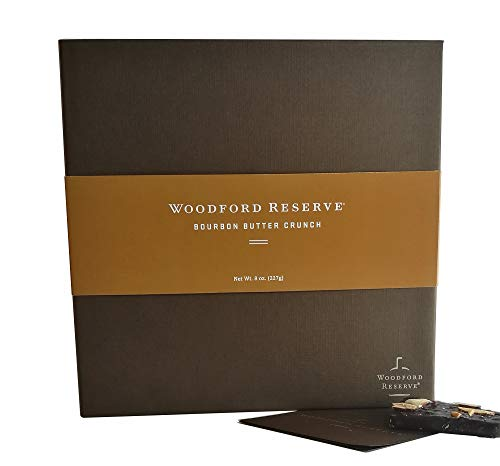 Woodford Reserve Premium Bourbon Butter Crunch Gift Box 16 Candies per box delicious and perfect for holiday gifts