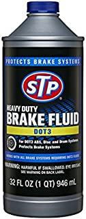 STP 18668 Heavy Duty DOT 3 Brake Fluid, 32 fl oz, Ounces