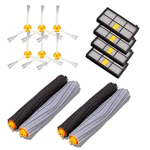 nengzhuzu Peças de reposição para aspirador de pó Roomba Acessórios para iRobot Roomba 980 880 805 com extrator de escova de filtro