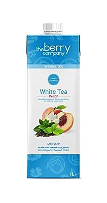 The Berry Company Special Thé Blanc Tea Peach 1 L - Lot de 12