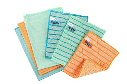 AQUA CLEAN Fenstertuch Ultra Plus Kristall 6er Set