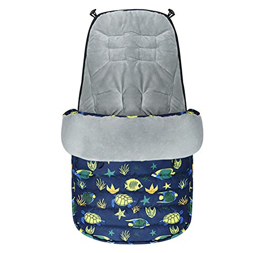 Saco de dormir caliente para cochecitos de invierno, saco de dormir exterior para bebé, con función impermeable, saco de invierno para bebé, accesorios generales