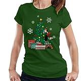 Olive OYL Around The Christmas Tree Popeye Women's T-Shirt