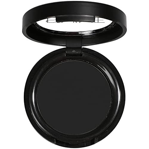 ISMINE Single Black Matte Eyeshadow Powder Palette High Pigment, Longwear, Intense Color Best Black Eyeshadow