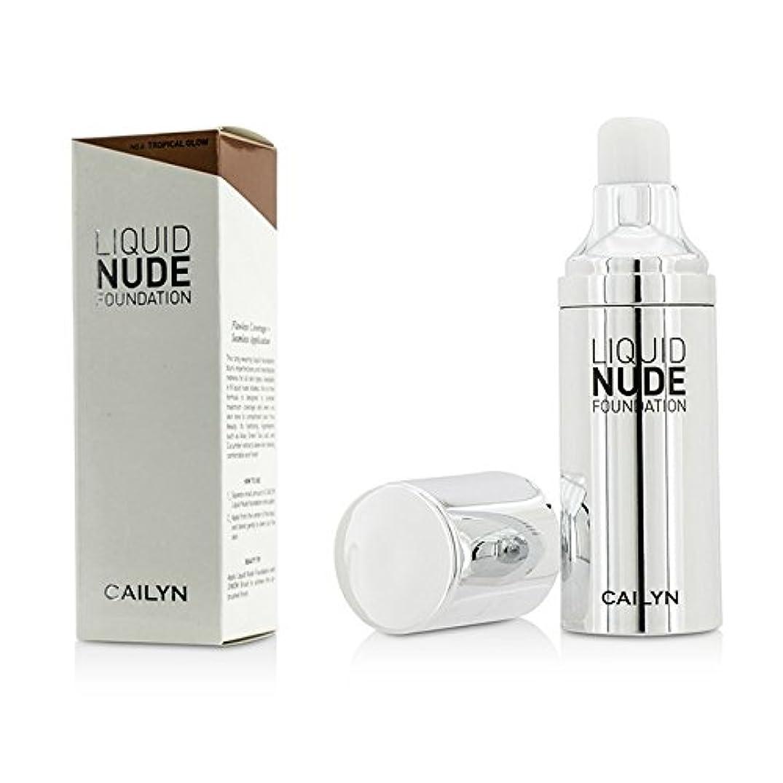 カエルうぬぼれ代わりのケイリン Liquid Nude Foundation - #06 Tropical Glow 30ml/1oz並行輸入品