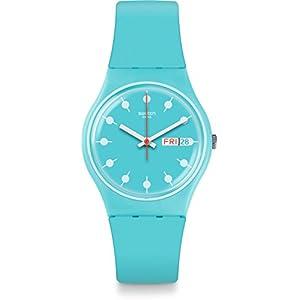 Swatch Reloj Digital para Unisex de Cuarzo con Correa en Silicona GL700