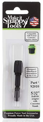 Snappy Tools 5/32 Zoll Bohrer-Adapter, passend für Festool Centrotec Bohrfutter #92010