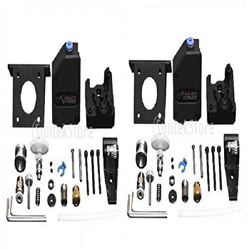 2 X Stampante 3D Potenziata Estrusore BMG Dual Drive per 1.75 Filament Prusa I3 MK3
