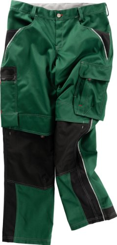 Beb Bund-Hose Arbeits-Hose INFLAME - grün/schwarz - Größe: 26
