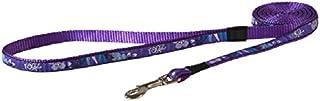 Rogz Fancy Dog Lead, Purple, Medium