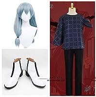コスプレ衣装 ウィッグ付き 靴付き呪術廻戦 真人 cosplay お盆 プレゼント