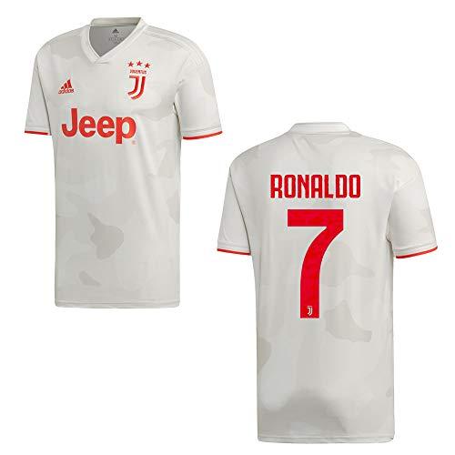 adidas, Ronaldo 7, Juventus Turin Tricot Away 2020, shirt voor kinderen