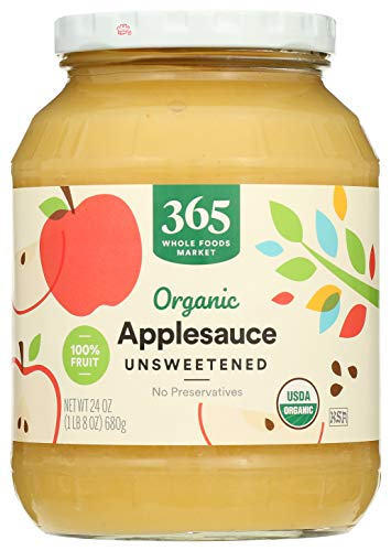 365 by Whole Foods Market, Organic Applesauce, Unsweetened, 24 Ounce