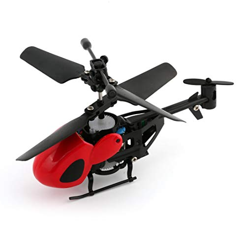 Flying Mini RC Helicopter Kid's RC Juguete Mini RC Plane Radio Control Remoto Rojo ToGames-ES