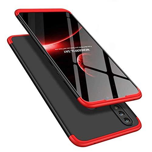 MRSTER Funda Honor 8X MAX - 360 Grados Protección Cubierta PC Hard Case Anti-Shock Anti-Scratch 3 in 1 Ultra Slim Caso Cover Carcasa para Huawei Honor 8X MAX