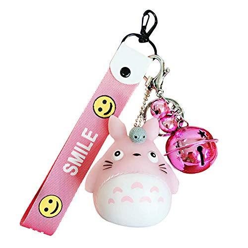 Haushele OFD Niedliche Chinchilla Puppe Keychain Tasche hängende Auto Geschenk Anhänger Schlüsselanhänger( H03)