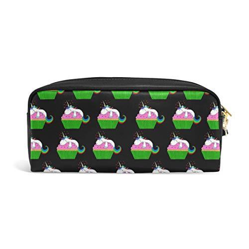 DEZIRO Cupcake eenhoorn etui doos cosmetische tas