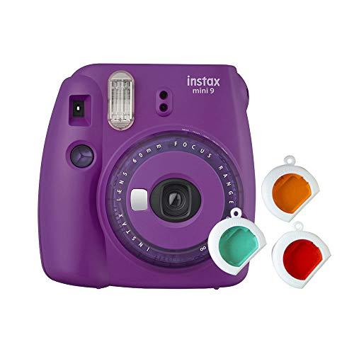 Fujifilm Instax Mini 9 Clear Morado – Edición Especial