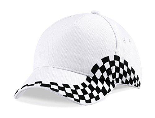 Beechfield Casquette Grand Prix Damier Style F1 B159
