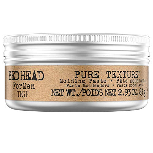 Bed Head for Men by Tigi Pure Texture Mens Hair Paste for Firm Hold, 83 g