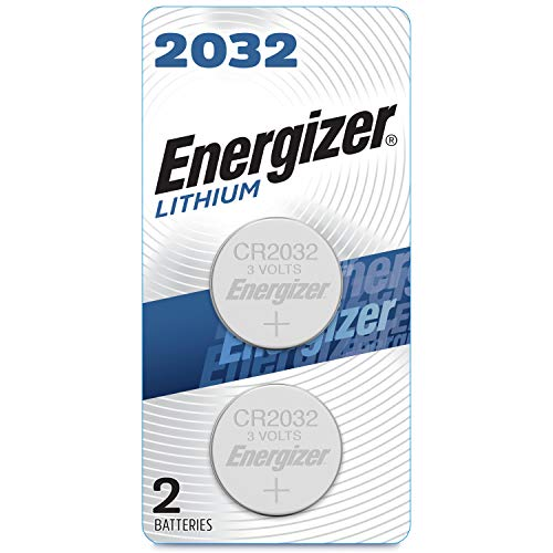 Energizer 2032 Batteries, 3 Volts, 2Pack (Packaging may vary)