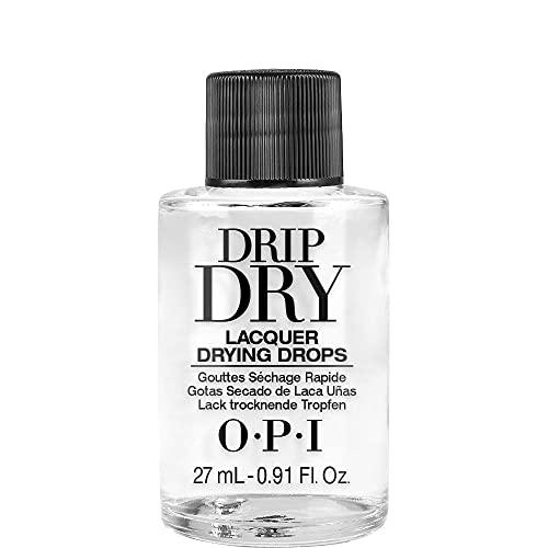 OPI Drip Dry, Nail Lacquer Drying Drops, Nail Polish Fast Drying Drops, 0.91 fl oz
