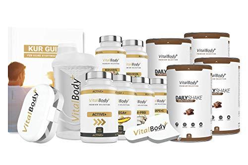 30 Tage Stoffwechselkur/HCG Diät Exklusiv+Stabilisierungspaket - für Männer&Frauen, detaillierter Ablaufplan&Ernährungsplan, leckere Rezepte, kostenlose Ernährungsberatung - Deutsche Premium Qualität!
