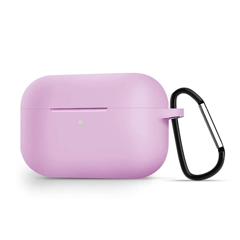 社会主義混乱させるソファーLHSY シリコン保護ケースAirPodsプロ、完全な保護アドバンストカバー防水ワイヤレスBluetoothヘッドセットカバー、より多くの色オプションを充電保護をフォール (Color : Pink)