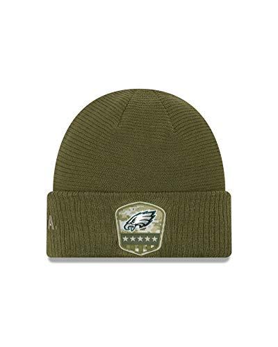 New Era ONF19 STS Knit muts Philadelphia Eagles Khaki