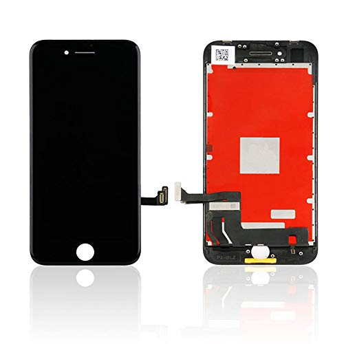 ZTR Replace LCD Glass Screen Fits iPhone 8 4.7 inch Digitizer Assembly Full Complete Frame Set Display Replacement (Black)