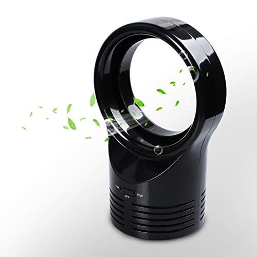 QYLJX Mini Ventilateur sans Lame Qui Dort de Refroidissement Ventilateurs à Air à Deux Vitesses Super Silencieux, Portables, pour Le Sommeil D'éTude de Travail