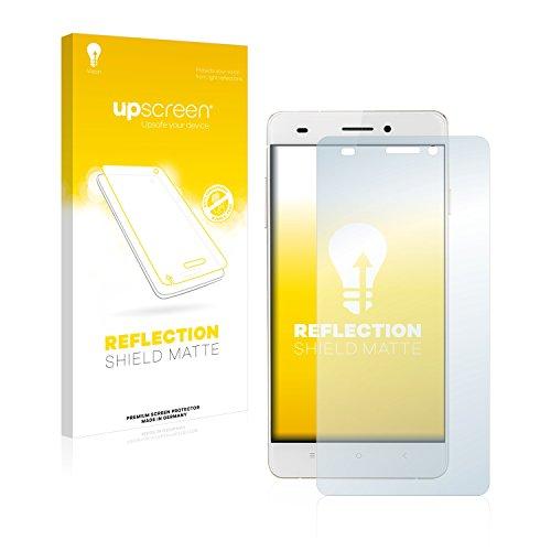 upscreen Entspiegelungs-Schutzfolie kompatibel mit Oukitel U2 (Rückseite) – Anti-Reflex Bildschirmschutz-Folie Matt
