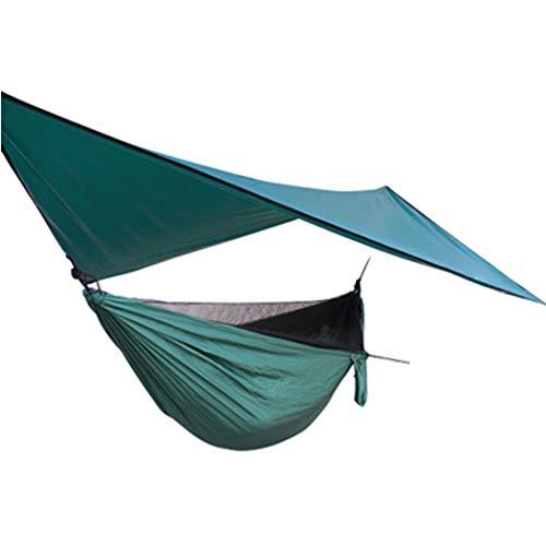 Mosquitera Hamaca con Dosel A Prueba De Viento Toldo Anti-Mosquitos Y Hamaca Mosquitera Elástica para Exteriores (Color : Mosquito Net Hammock+Canopy)