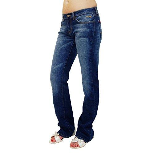MUDD Jade, Damen Bootcut Stretch Jeans 74BDH14 W28