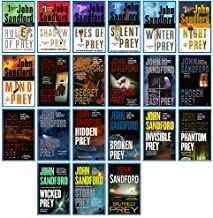 John Sanford Prey Series #1-#21 (Prey Novels: Rules of prey Through Buried Prey)