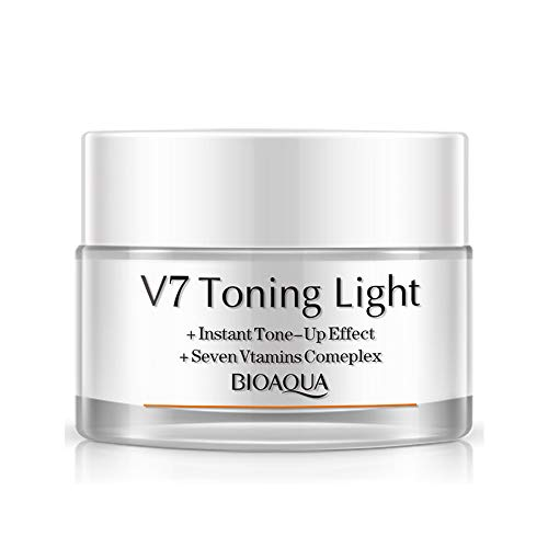 V7 Toning Light Cream Whitening Skincare Moisturizing Women Face Cream Skin Care Products Anti Acne Whitening Mask