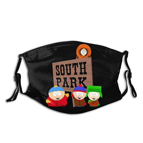 Mundschutz South Park Season2 Mouth Cover Face Cover Headscarf Outdoor Seamless Reusable Mouth Scarf